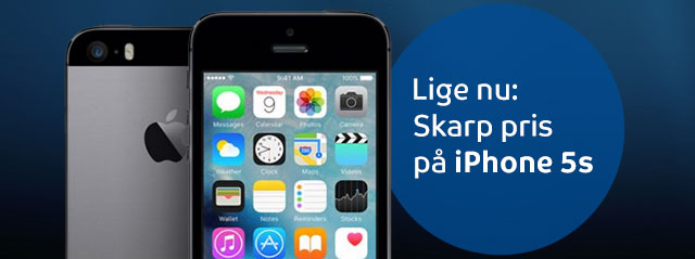 Skarp pris p� iPhone 5s